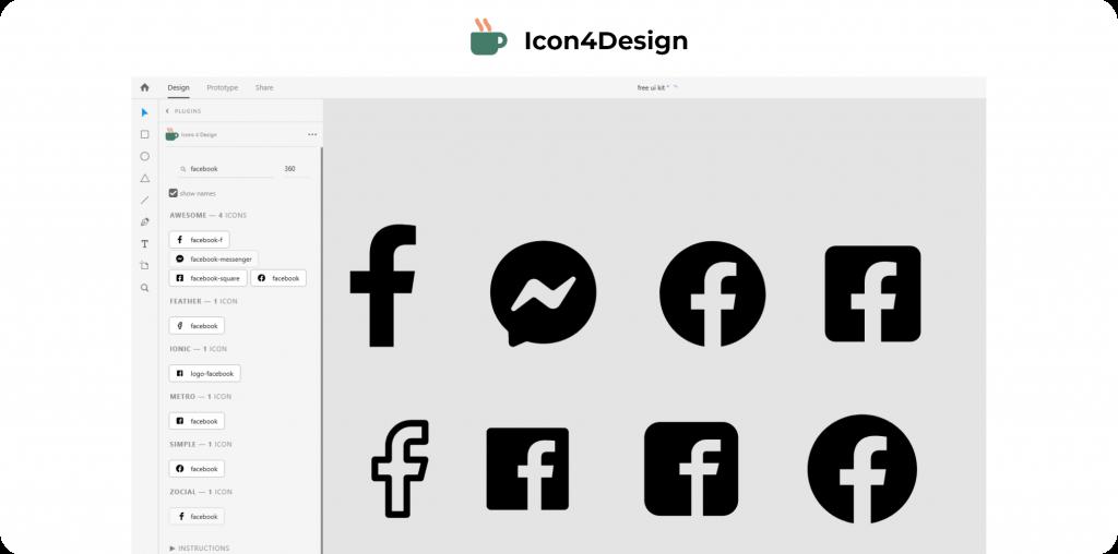 Icon 4 Design